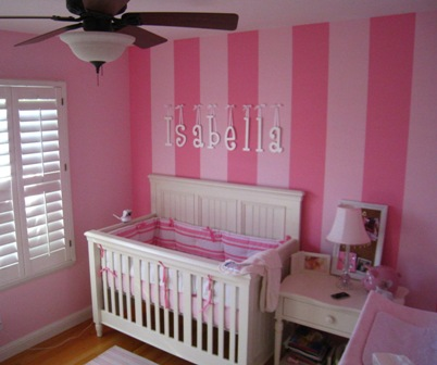 Paintingbaby Room on We Recently Painted A Baby S Room In San Ramon The Mother To Be Wanted