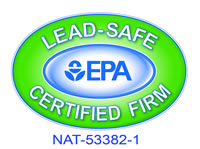 Lead Safe Certified by the EPA