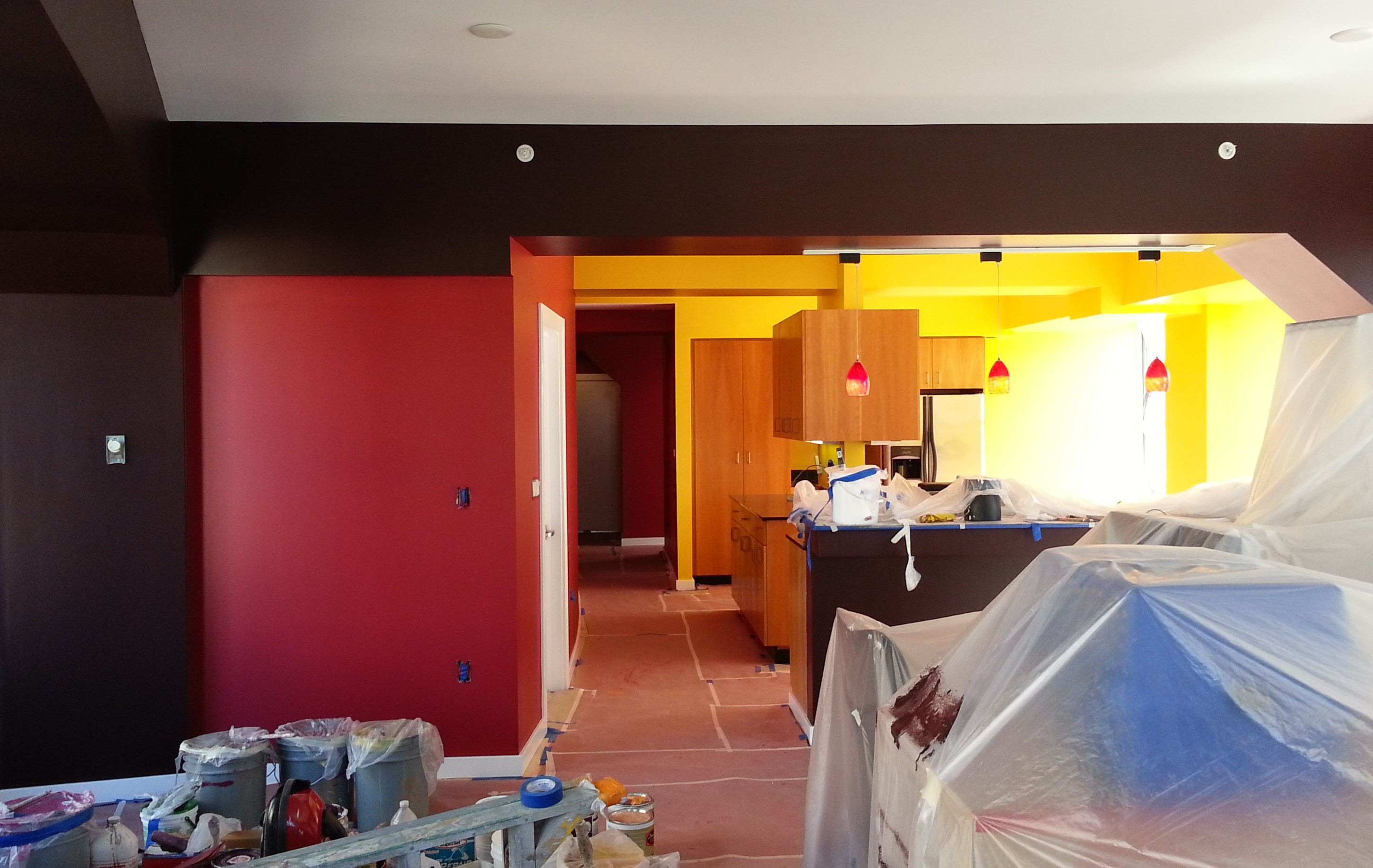 Interior painting in Oakland, Ca